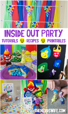 Disney Inside Out Party Ideas