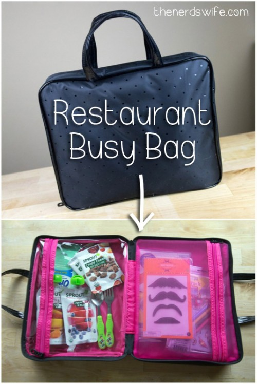Restaurant Busy Bag