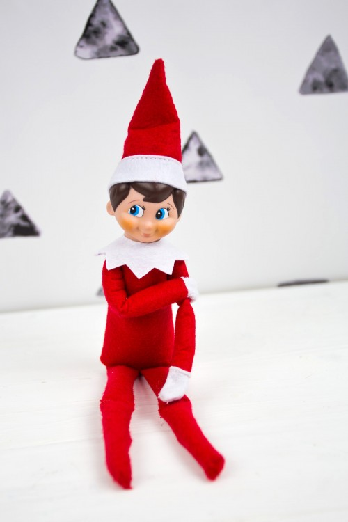 How To Make Your Elf on the Shelf Posable Square