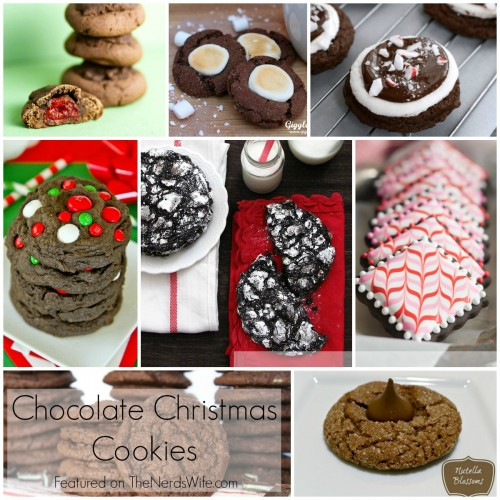 Chocolate Christmas Cookies