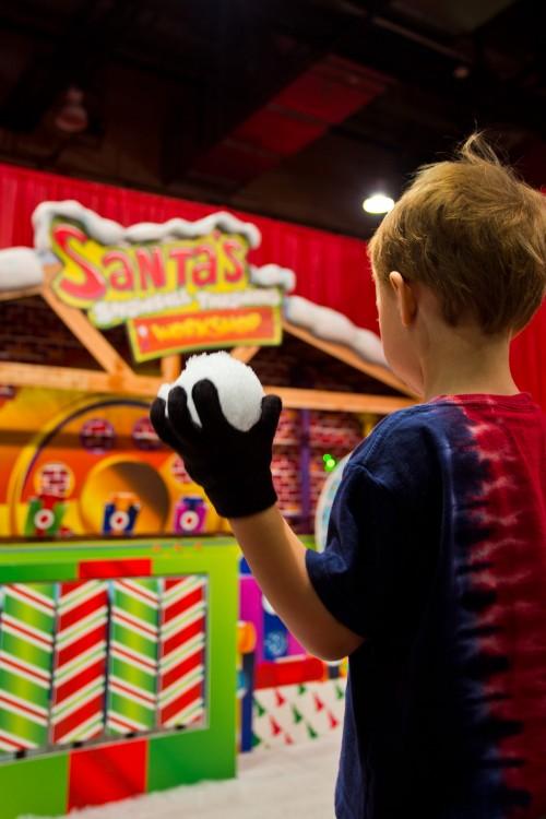 Santa's Snowball Throwing Workshop