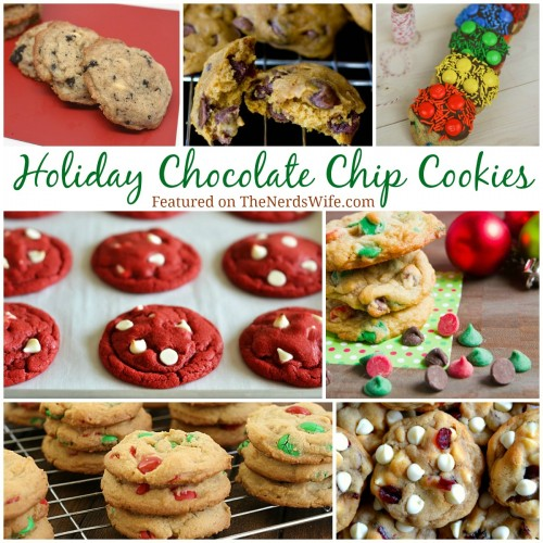 Holiday Chocolate Chip Cookies
