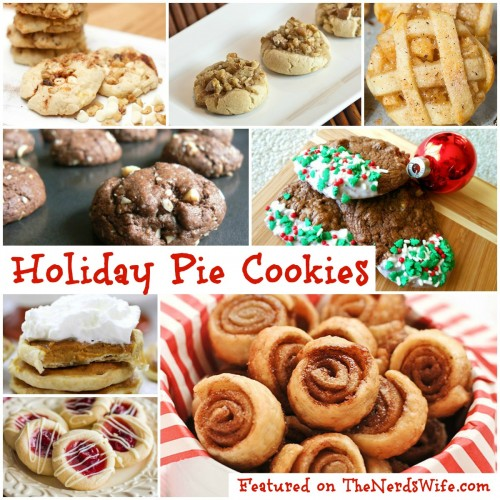 Holiday Pie Cookies
