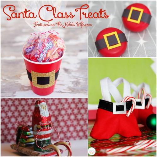 Santa Class Treats