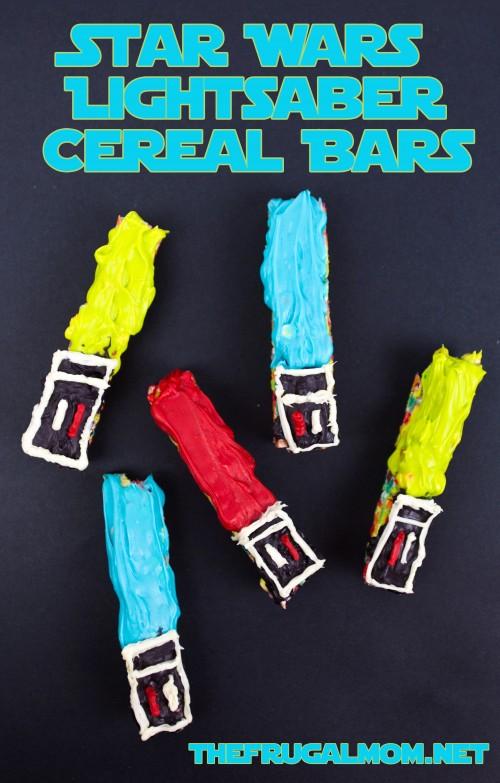 Star Wars Lightsaber Cereal Bars