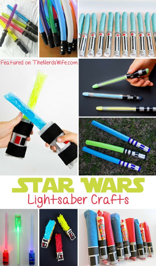Star Wars Lightsaber Crafts