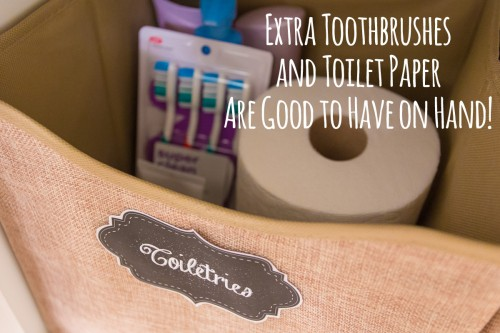 Organize Toiletries