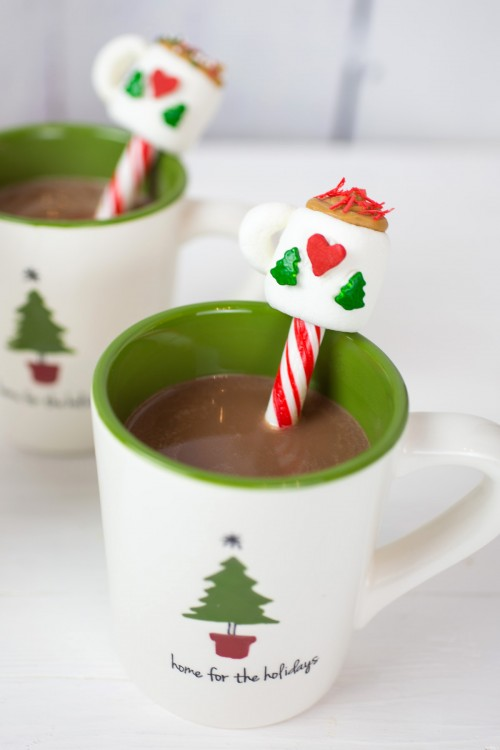 Hot Chocolate Peppermint Sticks