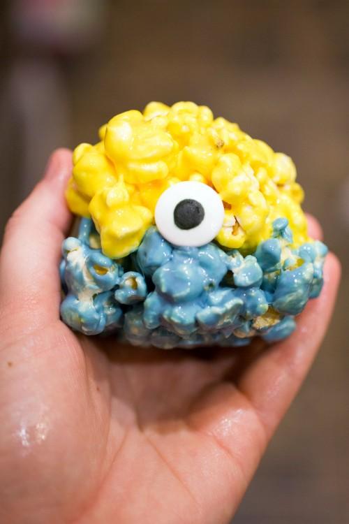 Minions Popcorn Balls