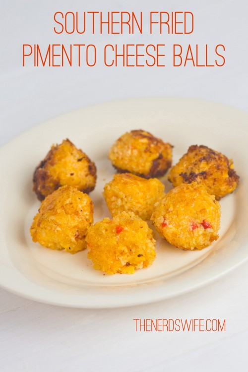 Southern Fried Pimento Cheese Balls