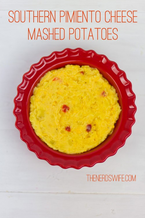 Southern Pimiento Cheese Mashed Potatoes