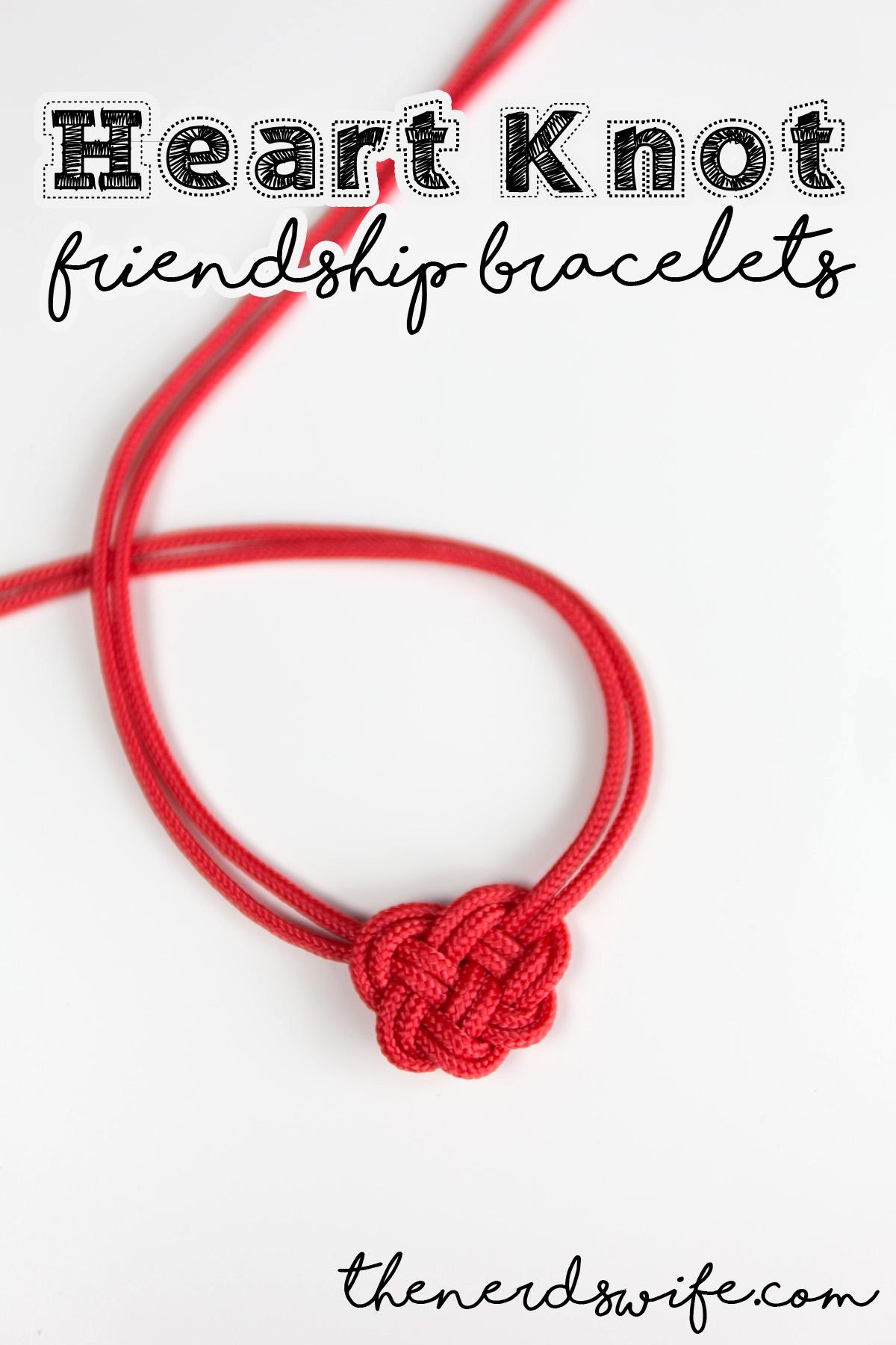 Celtic Heart Knot Friendship Bracelets