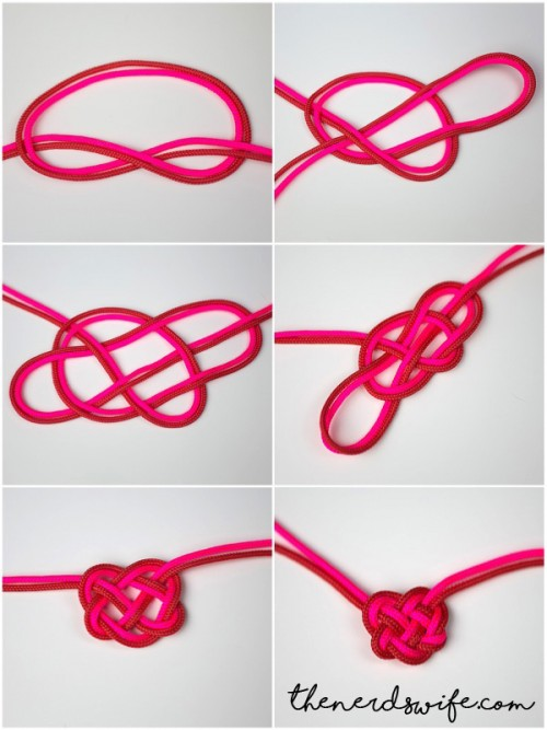 Heart Knot Steps