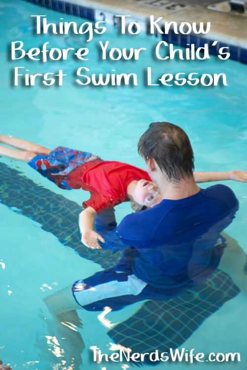 Things To Know Before Your Child's First Swim Lesson