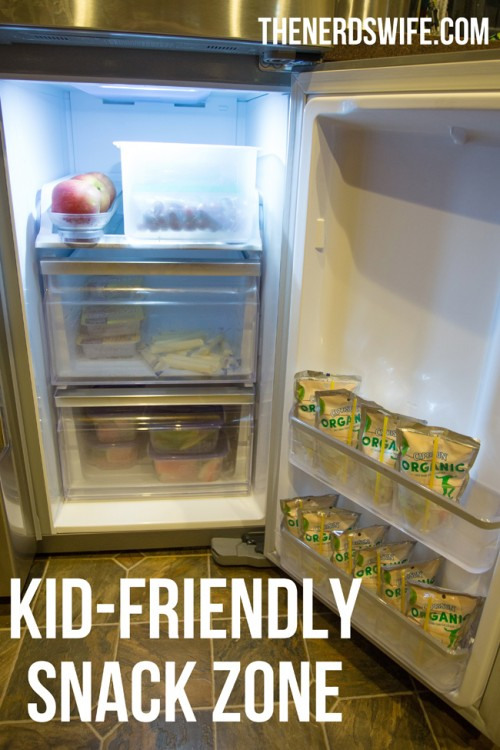 Kid Friendly Snack Zone