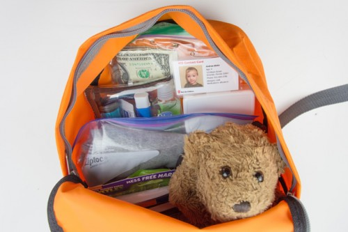 Emergency Go Bag for Kids