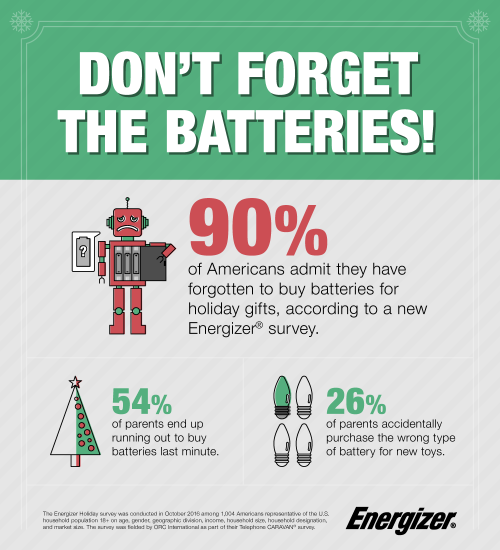 Holiday Batteries Survey