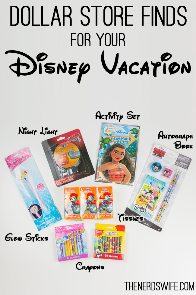 Dollar Store Finds for Disney Vacation