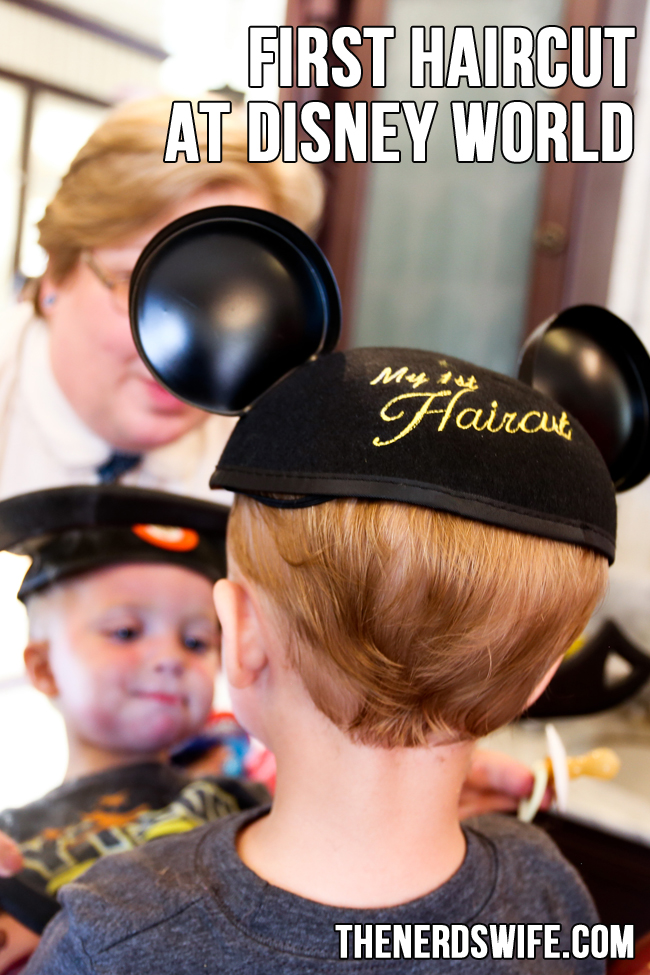 First Haircut at Disney World