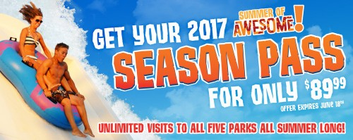 Hawaiian Falls Season Pass