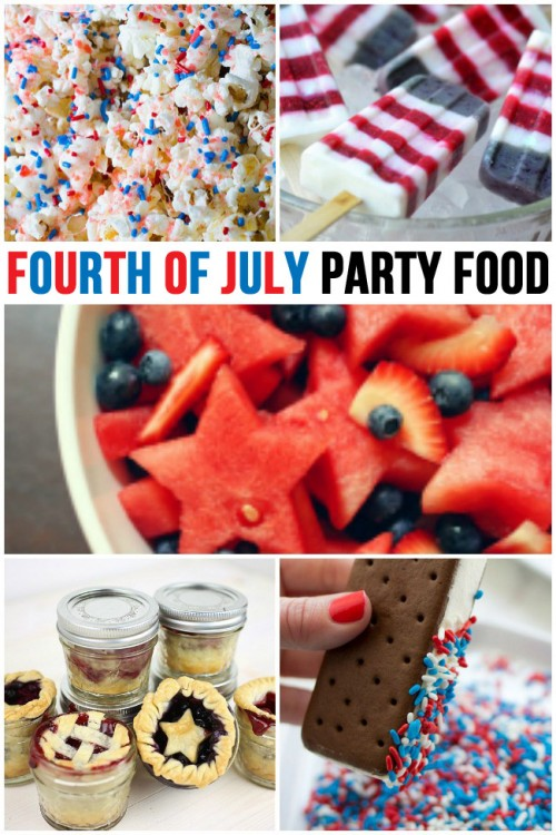 Fourth of July Party Food