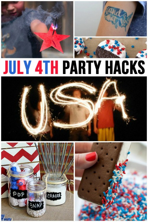 July 4th Party Hacks