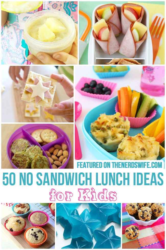 50 No Sandwich Lunch Ideas