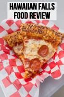 Hawaiian Falls Food Review