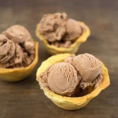 Sugar Cookie Ice Cream Bowls Square