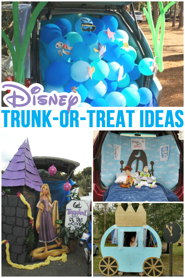 Disney Trunk or Treat Ideas