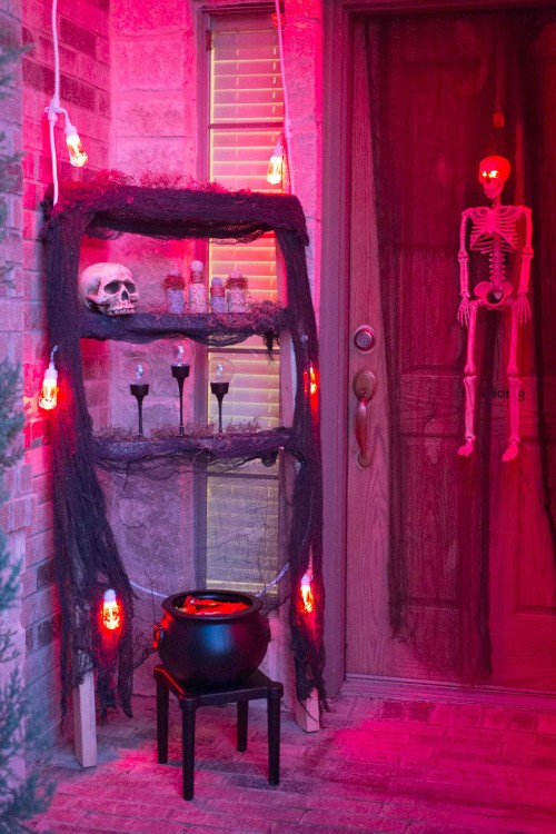 Spooky Apothecary in Red