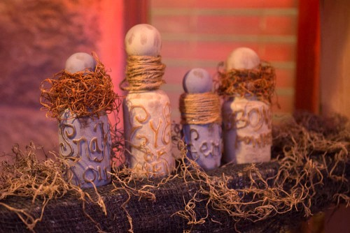 Spooky Apothecary Pill Bottles