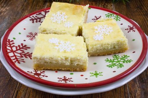 Sugar Cookie Cheesecake Bars-5