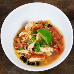 Sprite Chicken Tortilla Soup
