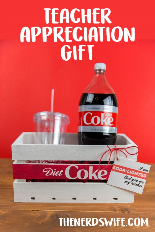 Soda-Lighted Teacher Gift