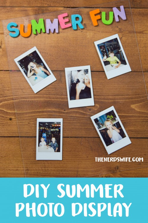 DIY Summer Photo Display