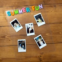 DIY Summer Photo Display with RaceTrac