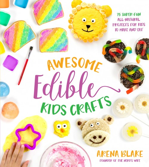 Awesome Edible Kids Crafts Book Cover