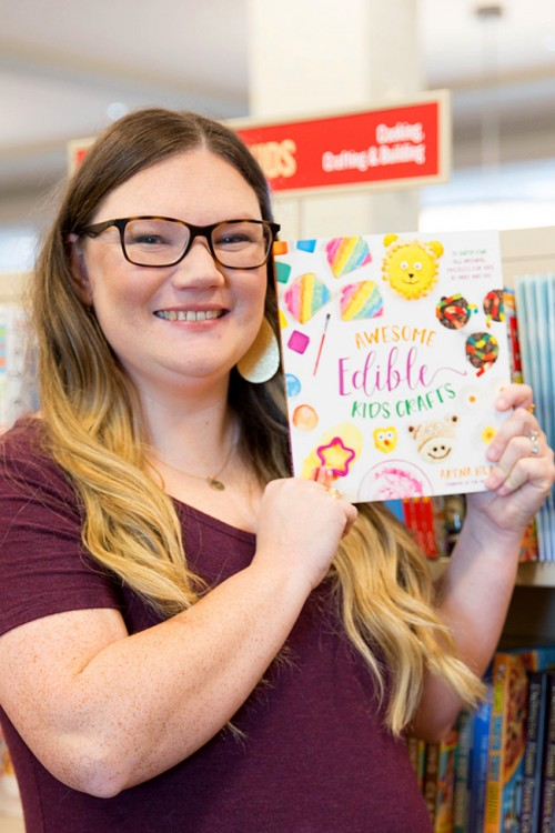 Awesome Edible Kids Crafts at Bookstore