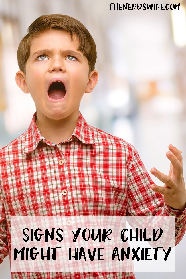 Signs Your Child Might Have Anxiety